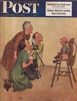 1949 Saturday Evening Post February 19 - Cary Grant; Oboe; Suez; Howard Univ.