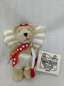 "Ganz Wee Bear Village Valentines Day Cupid 5"" Stuffed Animal Toy"