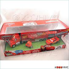 Disney Pixar Cars Team Rust-eze with Mack hauler, McQueen - My Name is Not Chuck