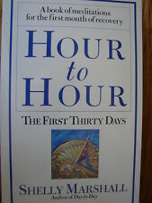 Hour to Hour : The First Thirty Days by Shelly Marshall (2001, Paperback)