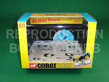 Corgi #811 James Bond Moon Buggy - Reproduction Box by DRRB