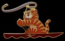 Rowing Olympic Pin Badge~1988~Mascot: Hodori~NEW! Still in 25 yr old packaging!!