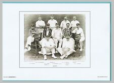 CRICKET  -  UNMOUNTED  CRICKET  TEAM  PRINT  -  KENT  -  1895