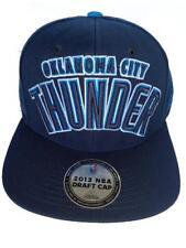 d572ddf9843 New OKC Oklahoma City Thunder 2013 NBA Draft Cap Mens Flatbrim Snapback Hat   28