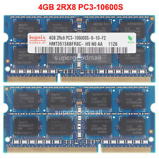 Hynix 4GB 8GB 16GB PC3-10600S DDR3-1333MHZ 204pin Memoria RAM para computadora portátil 1.5V Sodimm