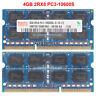 hynix 4GB 8GB 16GB PC3-10600S DDR3-1333MHZ 204pin 1.5V SODIMM Laptop Memory RAM