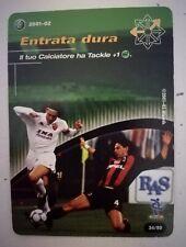 Entrata Dura FRANCESCO TOTTI ROMA Football Champions Wizards 2001/02