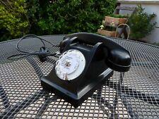 Fonctionne Compatible BOX ADSL Fibre Ancien Vieux Téléphone Bakélite Vintage U43
