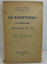 Bernard thorel, scouting baden-powell, method and life; 1935