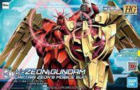 BANDAI GUNDAM HIGH GRADE - V-ZEON - CAPTAIN ZEON`S MOBILE SUIT - 1/144 MODEL KIT