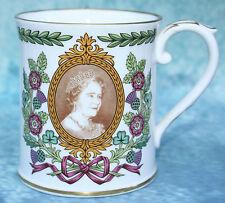 Spode Queen Elizabeth the Queen Mother 80th Birthday Commemorative Mug MINT