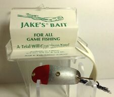 VINTAGE JAKE'S BAIT FISHING LURE NEW IN BOX WITH INSERT ~ TOUGH OHIO LURE