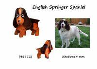 Llavero Piel Auténtica Hombre Mujer Razas Perros English Saltador Spaniel