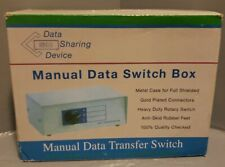 DW-HD15AB Data Sharing Device Manual Data Transfer Switch 3 Port