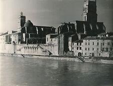 PONT ST ESPRIT c. 1935 -Église St-Saturnin  Escaliers St Pierre Gard - DIV8299