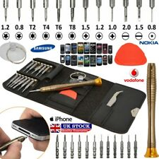 16 in 1 Mobile Phone Repair Tool Kit Screwdriver Set iPhone iPod iPad Samsung UK