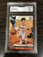 Jaxson Hayes 2019 Panini Chronicles #129 Rookie, Graded Gem Mint GMA 10 Pelicans