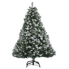 Weihnachtsbaum 210cm mit Schnee Effekt  LED Christbaum Kunstbaum Weihnachten