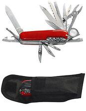 Taschenmesser Multitools Mehrzweck-Messer 23 Funktionen + Gürteltasche Camping