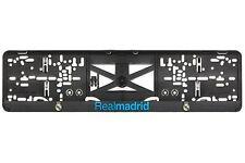 Real Madrid 2xECHTE 3D-Effekt Kennzeichenhalter, Nummernschildhalter plate holde