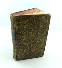 #e4409 Altes Buch: Des Cajus Sallustius Crispus übrig gebliebene Werke von 1817
