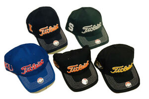 Titleist Collegiate Stretch Fit Golf Hat, Select Team/Size, BRAND NEW,FREE SHIP!