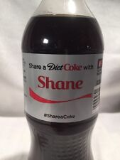 2015 Share a Diet COKE with SHANE Collectible 20 Oz Bottle Coca-Cola Name