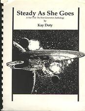 Star Trek the Next Generation Fanzine STEADY AS SHE GOES