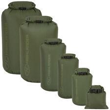 Waterproof Dry Sack Green Storage Kit Bag 1-80 Litre Kayaking Canoeing Camping