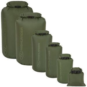 Waterproof Dry Sack Green Storage Kit Bag 1-140L Kayaking Canoeing Camping