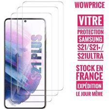 Verre trempé Samsung S21 S21 PLUS S21Ultra Vitre de protection ecran incassable