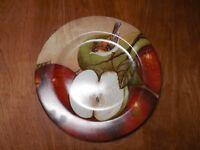 "Sakura David Carter Brown APPLE ORCHARD Salad Plate 8 1/4"" 1 ea  3 available"
