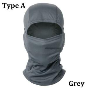 Tactical Full Face Mask Steel Mesh Hunting Airsoft Paintball Cycling Protective