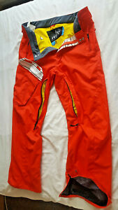 Volcom Nimbus Cargo Mens Snowboard/Ski/Snow Trousers  - Large  - Orange.