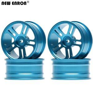 Aluminum 5 Spoke Wheels Rims 1:10 Hub For On-Road Drift Tamiya Traxxas HSP HPI
