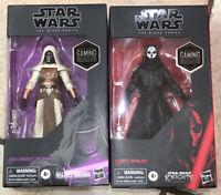 "Star Wars Black Series 6"" Gaming Greats Darth Nihilus + Jedi Knight Revan"