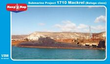 "1/350 Project 1710 ""Mackerel"" USSR Cold war submarine - New Mikromir!"