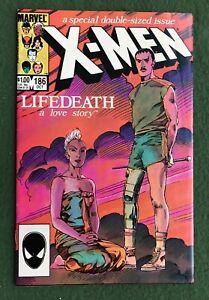 X-Men #186 Marvel Comics Copper Age Wolverine Storm Nightcrawler vf l3