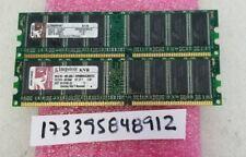 2GB DDR PC 400 PC3200 NON-ECC DUAL RANK 2RX8 64X8 184PIN INTEL PC DESKTOP RAM