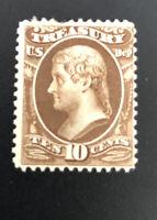 US Official Stamps Scott#O77 Mint MH OG CV$240.00