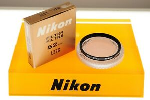 Nikon 52mm L37C (UV) filter. EXC++ boxed condition. Quality!