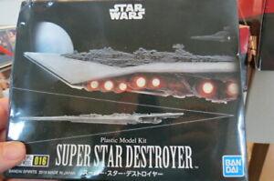 BANDAI SUPER STAR DESTROYER COMPLETE