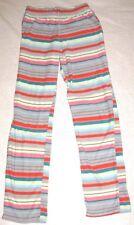 Xhilaration Womens Pajama Pants Sleepwear Pink Green Yellow Red Striped Size XS