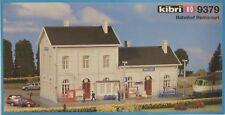 "Kibri 9379 HO Scale Station ""Remicourt"" Kit"
