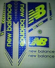 Cricket Bat sticker New Balance Blue 2017 Model.