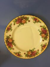 Royal Albert Old Country Roses Lot of 11 mixed plates/saucers