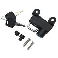 For Ducati Scrambler 400 800 Icon Full Throttle Metal Steel Helmet Lock Black