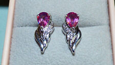 Rose Topaz Earrings BN