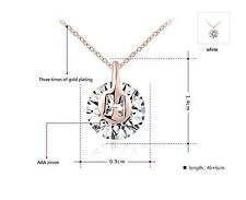 Diamond Rose Gold Plated Costume Necklaces & Pendants
