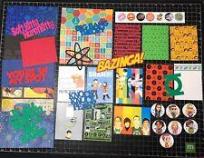 Big Bang Theory Scrapbook Kit, Scrapbook Paper, Project Life, planner, TV show